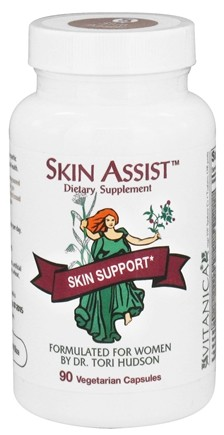 DROPPED: Vitanica - Skin Assist - 90 Vegetarian Capsules CLEARANCE PRICED