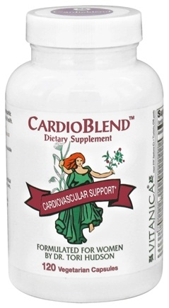 DROPPED: Vitanica - CardioBlend Cardiovascular Support - 120 Vegetarian Capsules CLEARANCE PRICED