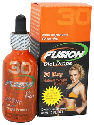 DROPPED: Fusion Diet Systems - Fusion Diet Drops 30 Day Natural Weight Solution - 2 oz.