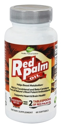 DROPPED: Healthy Natural Systems - Red Palm Oil - 60 Softgels