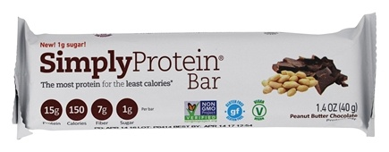 SimplyProtein - Protein Bar Peanut Butter Chocolate - 1.4 oz.