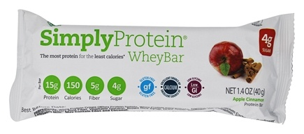 SimplyProtein - WheyBar Apple Cinnamon - 1.4 oz.