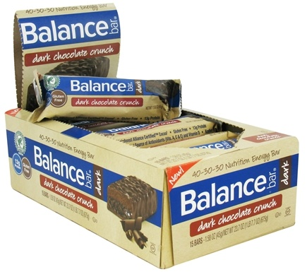 DROPPED: Balance - Nutrition Energy Bar Dark Chocolate Crunch - 1.58 oz.