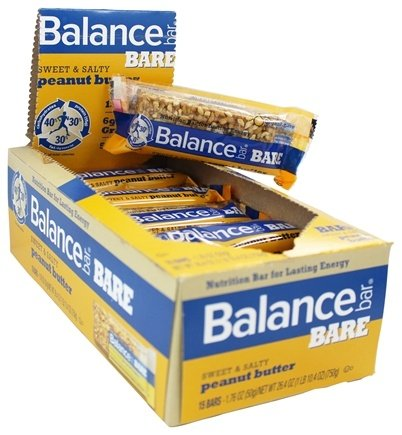 DROPPED: Balance - Nutrition Energy Bar Bare Sweet & Salty Peanut Butter - 1.76 oz.