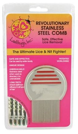 DROPPED: Ladibugs - Revolutionary Stainless Steel Comb for Lice Removal - CLEARANCE PRICED