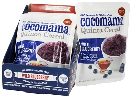 DROPPED: Cocomama - Quinoa Cereal Wild Blueberry - 5 oz.