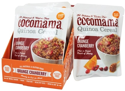 DROPPED: Cocomama - Quinoa Cereal Orange Cranberry - 5 oz.