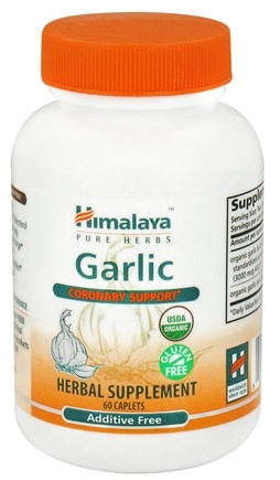 DROPPED: Himalaya Herbal Healthcare - Garlic Coronary Support - 60 Caplets CLEARANCE PRICED