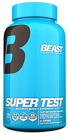 DROPPED: Beast Sports Nutrition - Super Test Testosterone Support - 216 Capsules