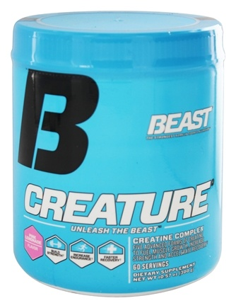 DROPPED: Beast Sports Nutrition - Creature Creatine Complex Pink Lemonade 60 Servings - 300 Grams
