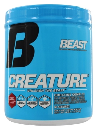 Beast Sports Nutrition - Creature Creatine Complex Cherry Limeade 60 Servings - 300 Grams