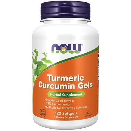 NOW Foods - Curcumin Free Radical Scavenger  - 120 Softgels