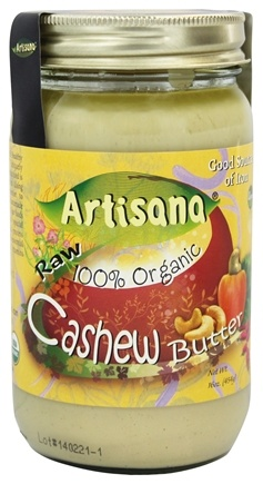 DROPPED: Artisana - 100% Organic Raw Cashew Butter - 16 oz.