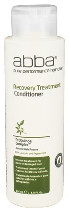DROPPED: Abba Pure Performance Hair Care - Recovery Treatment Conditioner - 8 oz. CLEARANCE PRICED