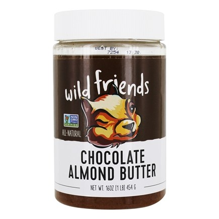 DROPPED: Wild Friends - All Natural Almond Butter Chocolate Sunflower Seed - 16 oz.