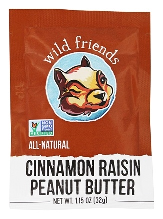 Wild Friends - Peanut Butter Cinnamon Raisin - 1.15 oz.