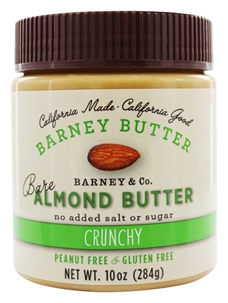 DROPPED: Barney Butter - All Natural Almond Butter Bare Crunchy - 10 oz.