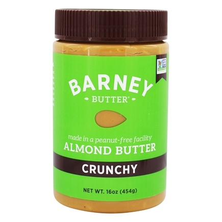 Barney Butter - All Natural Almond Butter Crunchy - 16 oz.