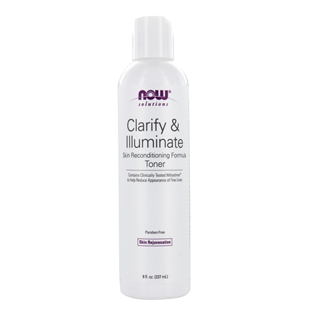 DROPPED: NOW Foods - Clarify & Illuminate Age Transformation Toner - 8 oz. CLEARANCE PRICED