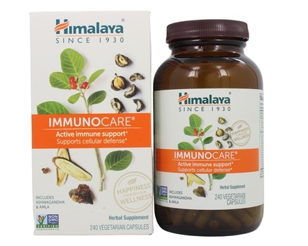 DROPPED: Himalaya Herbal Healthcare - ImmunoCare for Healthy Immune Defense - 240 Vegetarian Capsules CLEARANCED PRICED