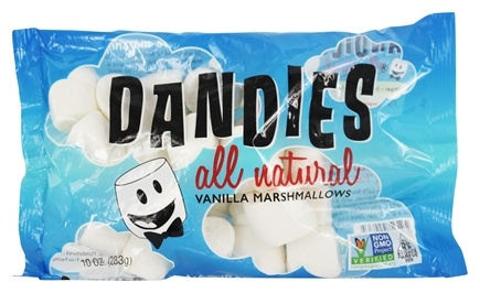 Dandies - All Natural Vegan Marshmallows Vanilla - 10 oz.