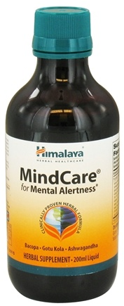 DROPPED: Himalaya Herbal Healthcare - MindCare for Mental Alertness Liquid - 200 ml.