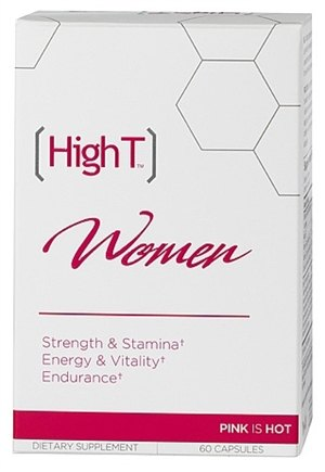 DROPPED: High T - All Natural Libido Booster for Women - 60 Capsules