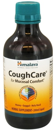 DROPPED: Himalaya Herbal Healthcare - CoughCare for Mucosal Comfort Liquid - 200 ml. CLEARANCED PRICED