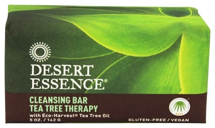 Desert Essence - Tea Tree Therapy Cleansing Bar Soap - 5 oz.