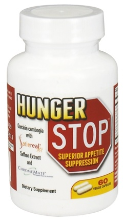 DROPPED: Gold Star Nutrition - Hunger Stop - 60 Vegetarian Capsules