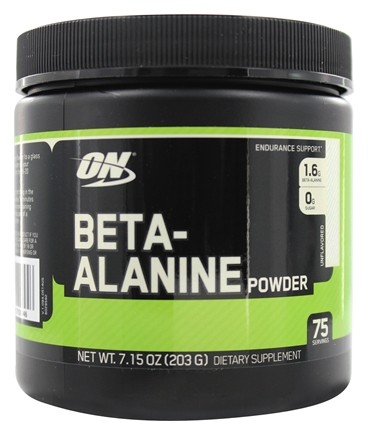 DROPPED: Optimum Nutrition - Beta-Alanine Powder Unflavored - 203 Grams