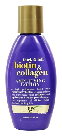 DROPPED: Organix - Amplifying Lotion Thick & Full Biotin & Collagen - 4 oz.