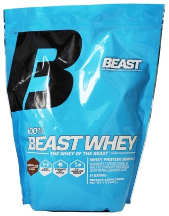 DROPPED: Beast Sports Nutrition - 100% Beast Whey Protein Chocolate - 2 lbs.