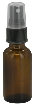 DROPPED: Wyndmere Naturals - Amber Glass Bottle with Mist Sprayer - 1 oz.