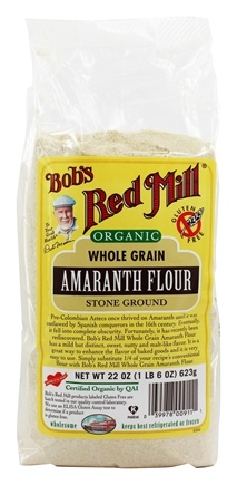 Bob's Red Mill - Organic Amaranth Flour - 22 oz.