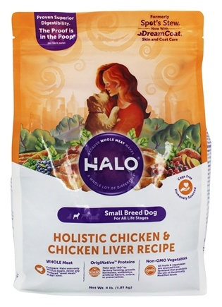 DROPPED: Halo Purely for Pets - Spot's Stew For Toy and Small Breed Dogs Wholesome Chicken Recipe - 4 lbs.