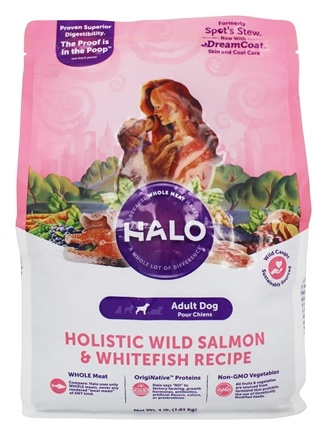 DROPPED: Halo Purely for Pets - Spot's Stew For Dogs Wild Salmon Recipe - 4 lbs.