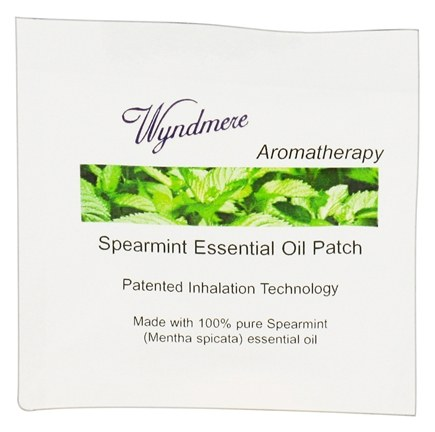 DROPPED: Wyndmere Naturals - Aromatherapy Essential Oil Patch Spearmint - 1 Patch(es) CLEARANCED PRICED