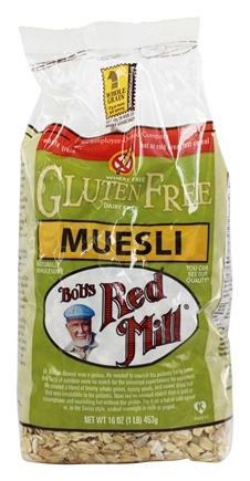 Bob's Red Mill - Gluten-Free Muesli - 16 oz.