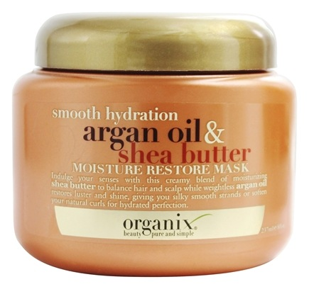 Zoom View - Moisture Restore Mask Smooth Hydration Argan Oil & Shea Butter