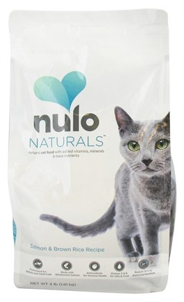 DROPPED: Nulo Naturals - Natural Cat Food Salmon & Brown Rice Recipe - 4 lbs. CLEARANCE PRICED
