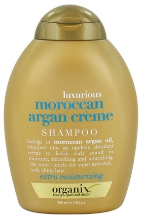 DROPPED: Organix - Shampoo Luxurious Moroccan Argan Creme - 13 oz. CLEARANCED PRICED