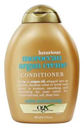 DROPPED: Organix - Conditioner Luxurious Moroccan Argan Creme - 13 oz.