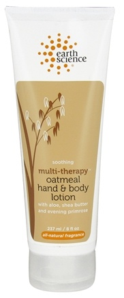 DROPPED: Earth Science - Multi-Therapy Oatmeal Hand & Body Lotion Soothing - 8 oz.