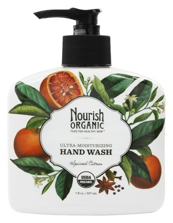 DROPPED: Nourish - Organic Hand Wash Spiced Citrus - 7 oz.
