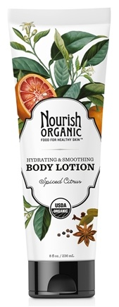 DROPPED: Nourish - Organic Body Lotion Spiced Citrus - 8 oz. CLEARANCE PRICED
