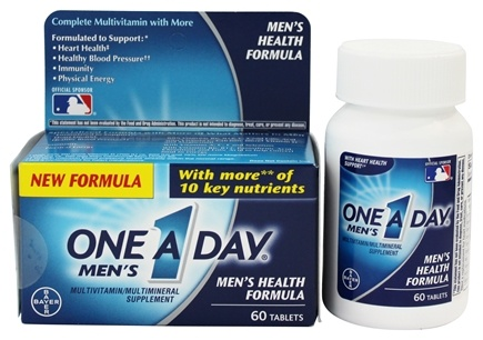 One A Day - Men's Health Formula - 60 Tablets