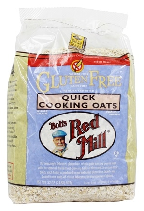 Bob's Red Mill - Gluten Free Quick Cooking Rolled Oats - 32 oz.