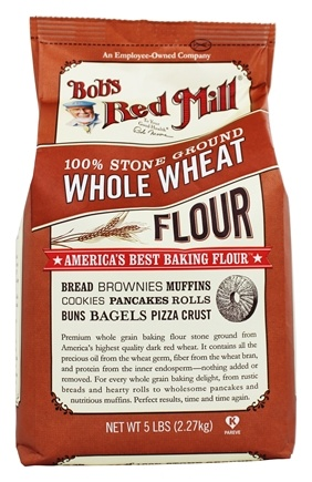 Bob's Red Mill - Whole Wheat Flour - 5 lbs.