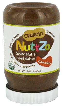DROPPED: NuttZo - Organic Omega-3 Seven Nut & Seed Butter Chocolate - 16 oz. CLEARANCE PRICED